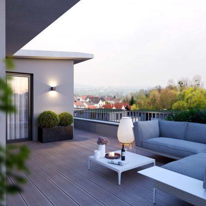 KampusKarree_HausB-TerrasseAbend